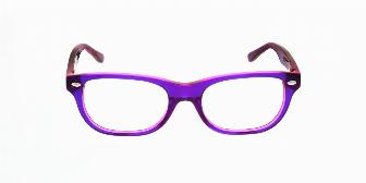 Ray Ban Youth RY1555 3666 Top Violet on Fuxia Fluorescent 46