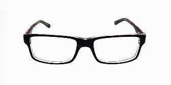 Ray Ban Optical RX5245 2034 Top Black on Transparent 54