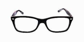 Ray Ban Optical RX5228 5405 Top Black Camo Logo 53