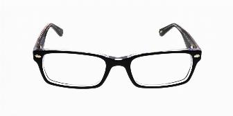 Ray Ban Optical RX5206 2034 Top Black on Transparent 52