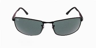 Ray Ban Sun RB3498 002/71 Black 61