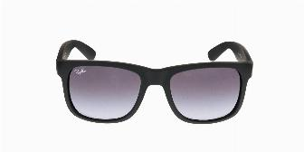 Ray Ban Sun RB4165 622/6G Rubber Black 54