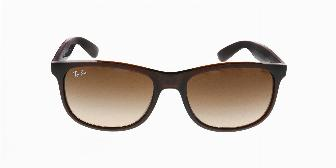 Ray Ban Sun RB4202 607313 Matte Brown 55