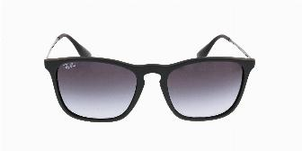 Ray Ban Sun RB4187 622/8G Rubber Black 54