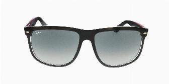Ray Ban Sun RB4147 617187 Top Matte Black Red 56