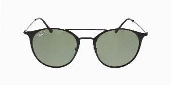 Ray Ban Sun RB3546 186/9A Blk Mt Blk Pol 52