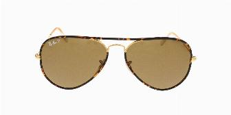 Ray Ban Sun RB3025JM 146/32 Shiny Gold 58