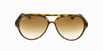 Ray Ban Sun RB4125 710/51 Light Havana 59