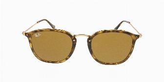 Ray Ban Sun RB2448N 710 Light Havana 51