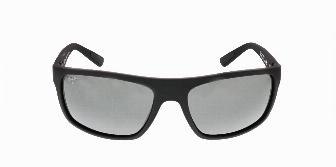 Maui Jim Byron Bay Matte Black Rubber Neutral Grey 02MR 62