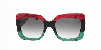 Gucci GG0083S 001 Red/Black 55
