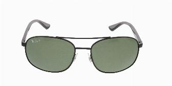 Ray Ban Sun RB3593 002/9A Black 58