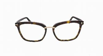 Tom Ford FT5550 052 Shiny Dark Havana 54