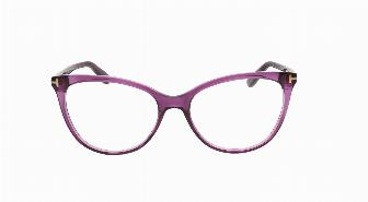 Tom Ford FT5513 081 Shiny Dark Trans Violet 54
