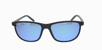 Maui Jim Dragon's Teeth B811 Dark Navy Stripe 03S 58