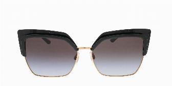 Dolce & Gabbana DG6126 501/8G Black/Pink Gold 60