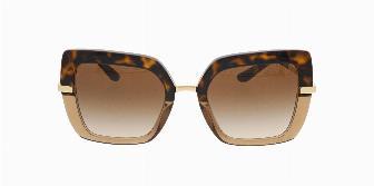 Dolce & Gabbana DG4373 325613 Havana on Trans Brown 52