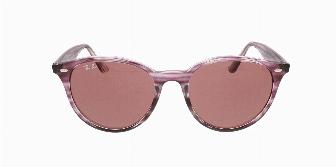 Ray Ban Sun RB4305 643175 Striped Bordeaux Havana 53