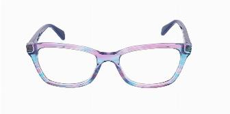 Ray Ban Youth RY1591 3806 Fuxia Striped Multi 48